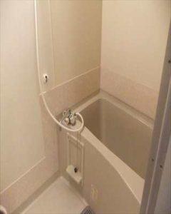 ユニットバスのサビ補修 アイカセラールバスルーム用施工例 bathrepair