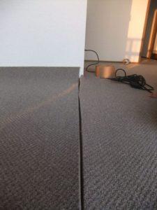 マンションリフォーム,カーペット張替,アイロンジョイント carpet