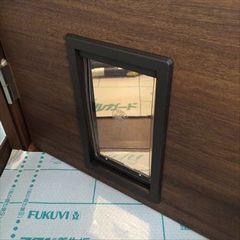猫用ペットドア,ペットーる,UNIFLOWの施工例 petdoor