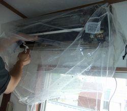 契約更新時に人気のサービス工事 エアコン洗浄 accleaning
