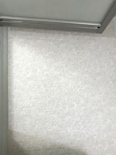 ユニットバスの洗い場補修、東リ バスナフローレ施工 repairmaintenance bathna