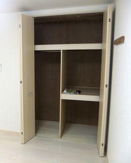 アパート 押入からクローゼットへのリフォーム wayoureform closet