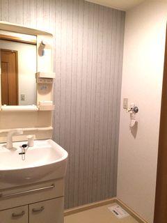 アクセントクロス施工例 ワンルーム、リビング、洗面所、和室など cloth