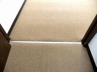 ワンルームマンションのカーペット張替,ダブルロック carpet