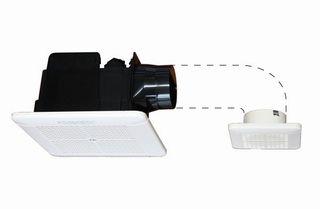 ユニットバスのダクトファン(換気扇)交換 ductfan