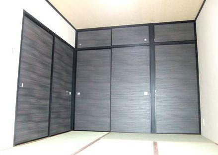 和室リフォーム,襖|ふすまをアクセントにする施工例 husuma