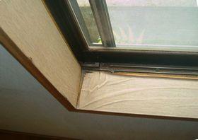 日焼けした窓枠の補修 原状回復施工例 madowakurepair dinocreatec