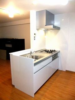 RCマンション,間取り変更,対面キッチンリフォーム renovation system-kitchen