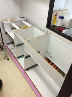 松戸市マンション システムキッチン施工例 system-kitchen