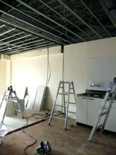 賃貸マンションの空室対策例 リノベーション,システムキッチン renovation floortile system-kitchen