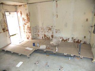 テナント,店舗リフォーム,二重床 tenant bankyofloor renovation