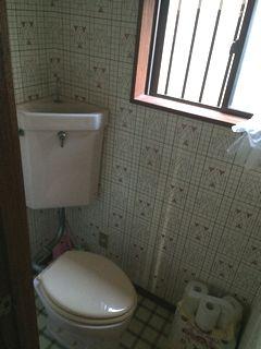 隅付便器からのトイレリフォーム 戸建て1F,2F toiletlixiltoto cloth cf