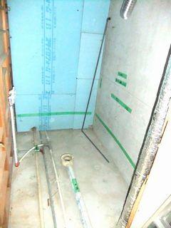 賃貸マンションのユニットバス交換工事 施工例 washbasin unitbath