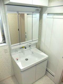 柏市 TOTO,サクア,洗面化粧台施工例 washbasin wetroom