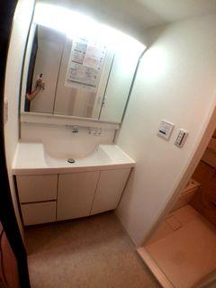 洗面化粧台,リクシル L.C.の施工例 washbasin