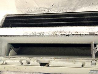 原状回復 エアコン洗浄 施工写真 accleaning