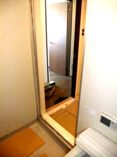 ユニットバスのドア(折り戸)交換 YKK AP サニーセーフⅡ doorrepair unitbath