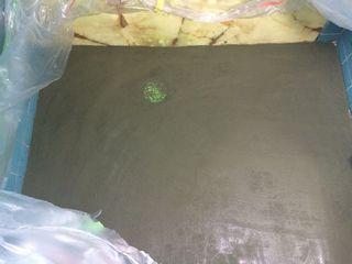 浴室タイルの床シート バスナフローレ施工例 bathna