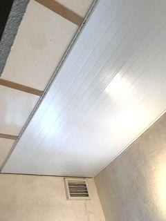 フクビ バスパネルEX施工例 浴室天井補修 bathrepairfilm bathrepair