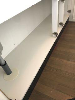 キッチンの扉、底板補修 ダイノックフィルム 施工例 doorrepair dinocreatec system-kitchen