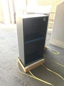 賃貸マンション用宅配ボックスの新設工事 施工例 commonareas
