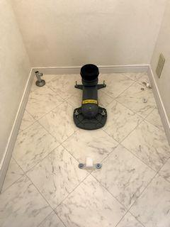 アメージュZAリトイレ フチレス アクアセラミック施工例 wetroom toiletlixiltoto